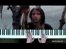 М Дунаевский Ветер перемен пианино кавер музыка из к ф Мэри Поппинс до свидания