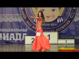Makarevich Polina. WDO 2016- DANCE QUEEN by Olesya Pisarenko