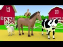 Farm animals name and sound Kids Learning