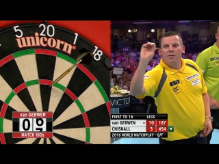 Michael Van Gerwen vs David Chisnall (PDC World Matchplay 2016 / Quarterfinal)
