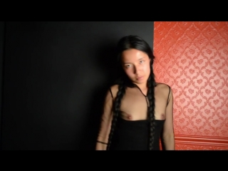 Luna fashion nude photoshoot