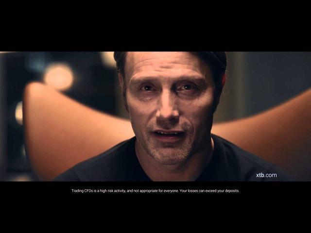 XTB's TV ad starring Mads Mikkelsen 'I trade I love it ' Extended version
