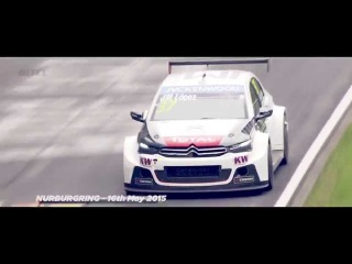 WTCC – World Champion Jose Maria Lopez makes a last-ditch run at the win on the Nordschleife