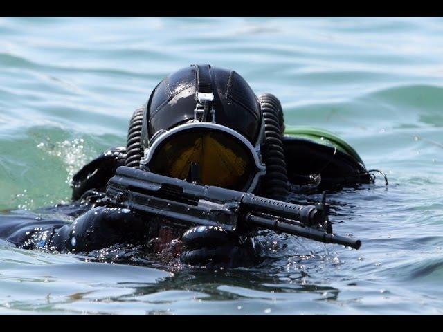 Спецоружие для подвоных диверсантов Стрелковое оружие для подводной войны