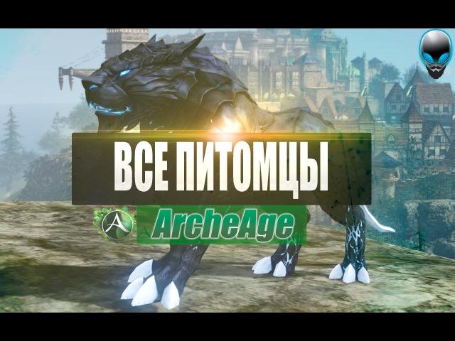 ArcheAge: ВСЕ ЕЗДОВЫЕ ЖИВОТНЫЕ