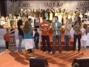 CIM 2007 ¦ Flordelis e 50 filhos cantando Só o Amor c⁄artistas globais