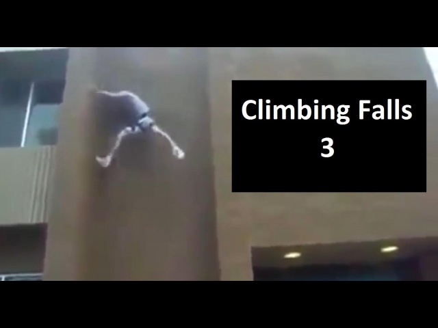 Rock Climbing Falls, Fails and Whippers Compilation 2015 Part 3