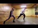 Удивительная девочка и парень классно танцуют
