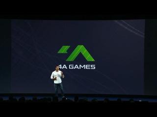 Момент анонсу Arktika.1 від 4A Games на Oculus Connect 3