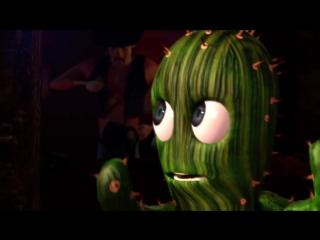 Добрый короткометражный мультик про кактусы и любовь
