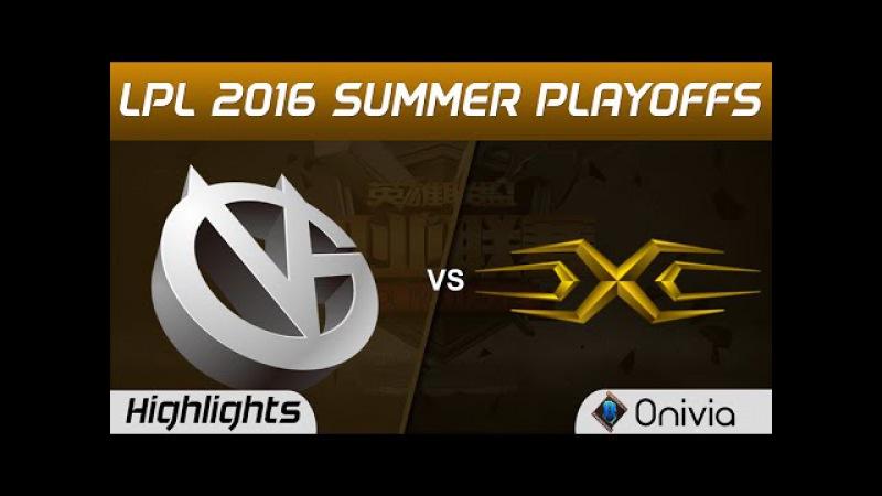 VG vs SS Highlights Game 1 Tencent LPL Summer 2016 Playoffs Tie Breaker Vici Gaming vs Snake