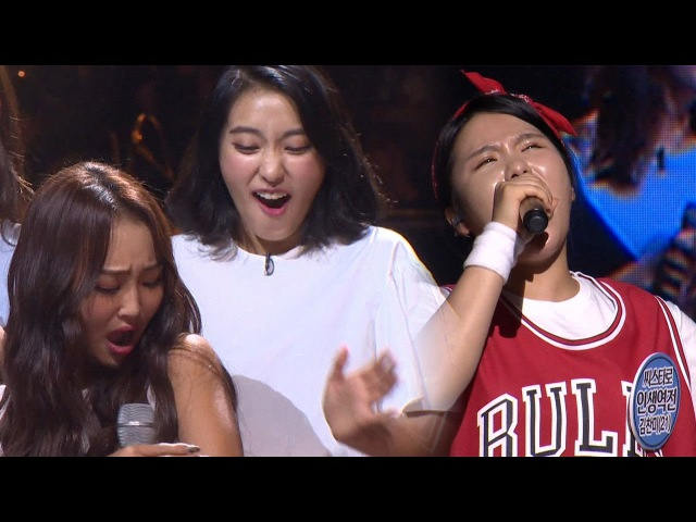 SISTAR's fans singing 'Give It To Me' make SISTAR chills 《Fantastic Duo》판타스틱 듀오 EP14