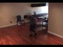 Dan Balan working on choreography for Crazy Loop (Joanna)