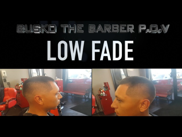 How To Cut A Low Bald Fade One On One Tutorial Step By Step By Busko The Barber P.O.V 17