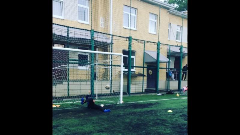 Ходенков Алексей -2003 год . вратарь ДЮСШ Романа Павлюченко г. Ставрополь
