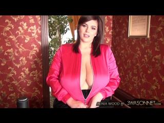 Unzip her pink jacket xenia wood