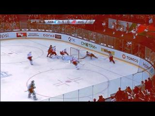 KHL Alexander Burmistrov №69 goal Gagarin cup 2015 #by DmX