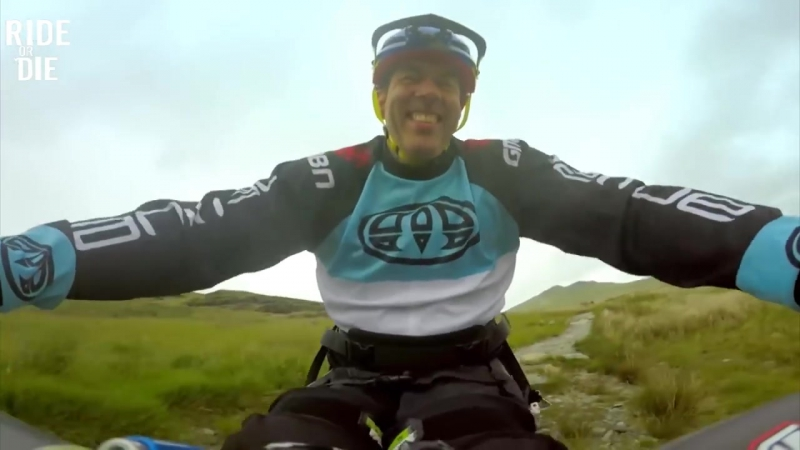 Mountain Handbikers are AWESOME