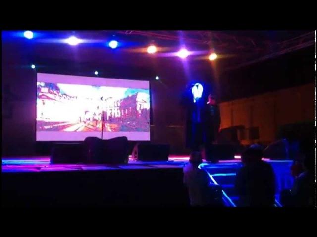 Ержана Кабдуллин и Mr Double A D Лондон Москва Астана Концерт на площади в Кокшетау