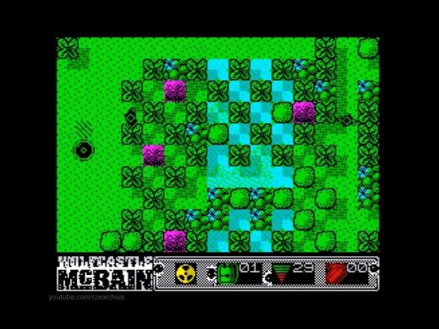 Wolfcastle McBain Walkthrough ZX Spectrum