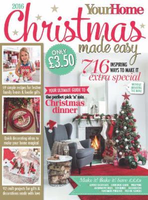 Your Home Christmas Made Easy 2016