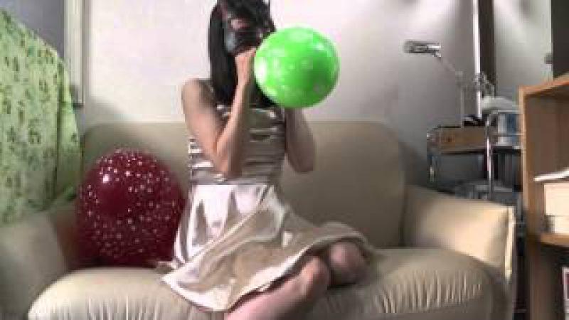 風船フェチ<めいちゃんと風船♪>Balloon Fetish