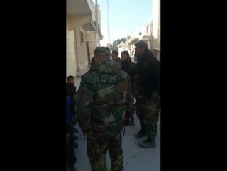 Несколько мирных жителей Алеппо смогли выйти из оккупированных террористами восточных кварталов города