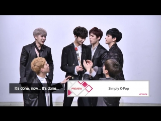 VK Preview With MONSTA X @ Simply K-Pop