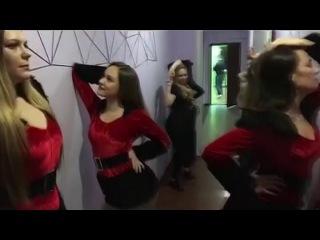 """Новогодний Mannequin Challenge/Манекен Челлендж в студии танца """"D"""""""