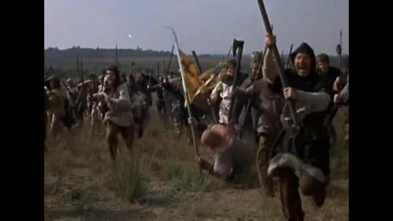 Сражающийся принц Донегала (1966). Штурм ирландцами замка с британским гарнизоном