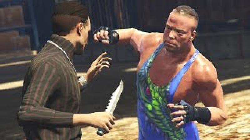 GTA 5 WWE Mods RVD RETRIEVES PAUL HEYMAN'S CAR Cinematic Story