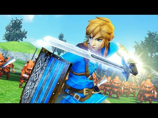 Hyrule Warriors: Definitive Edition Gameplay Trailer (2018) Switch