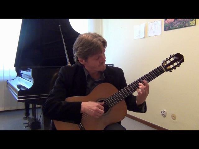 Tango Espuma de Champagne Брызги шампанского for guitar Arr by Michael Goldort