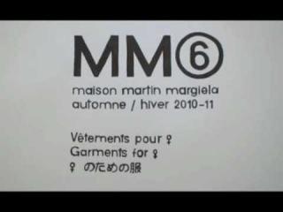 MAISON MARTIN MARGIELA MM6 AUTUMN/WINTER 2010/11 TEASER