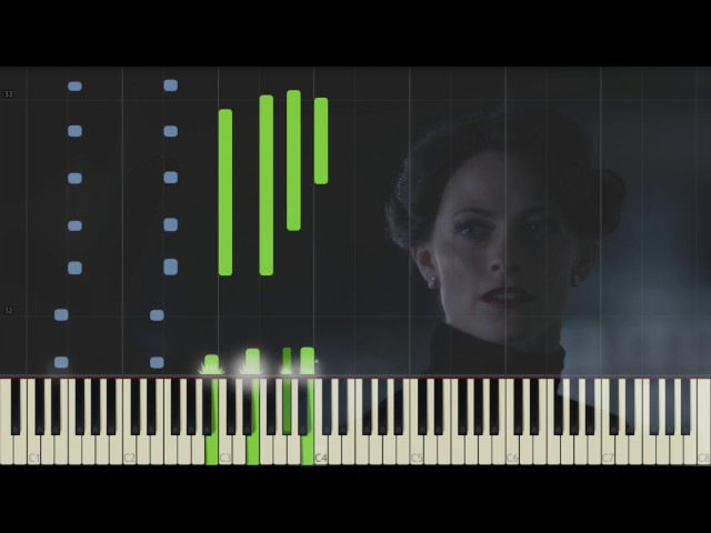 Sherlock Irene Adler's Theme Piano Synthesia