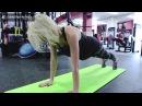 Тренировка абдоминальных мышц брюшного пресса