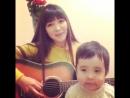 Красивая девушка из Казахстана очень хорошо поет..mp4
