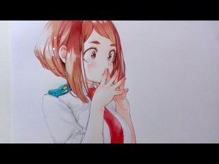 Drawing Uraraka Ochako - Boku no Hero Academia    -