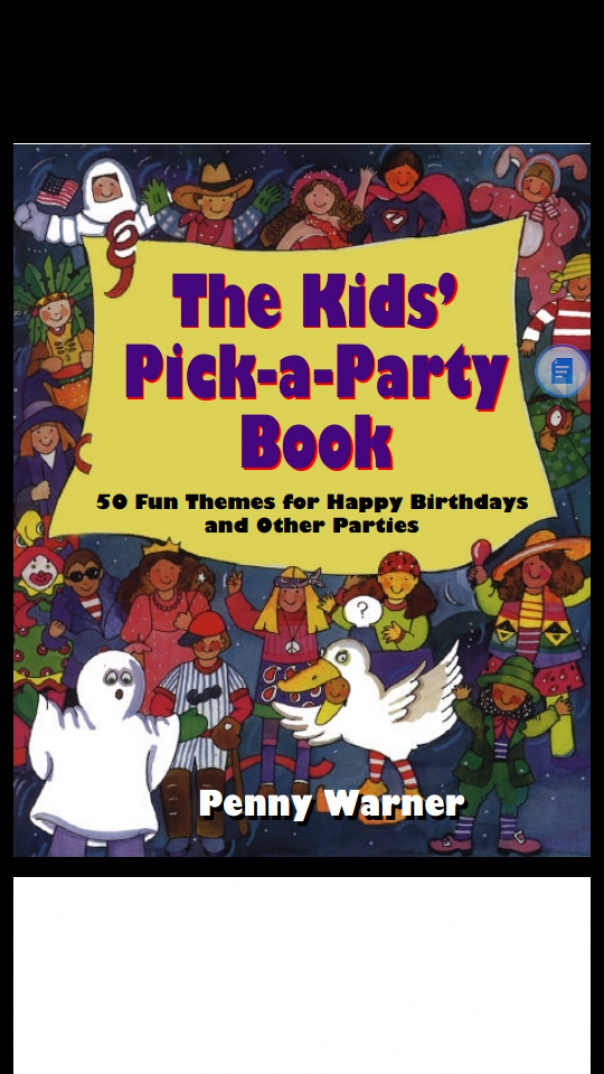 Kids Pick A Party Book 50 Fun Themes