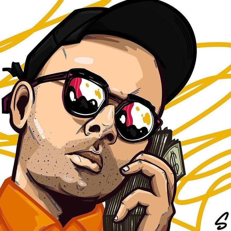 Смоки Мо: Ало #Repost smallpimpart ・・・ #art special for [id270930|smokymo] #characterdesign #illustration #illustrator #streetwear #moneytalk #cash #black #hiphop #rap #trap #moscow #saintpetersburg #saintp #смокимо #рэп #трэп #логотипназаказ #лого #иллюстрация #иллюстратор #портрет #portraits #usa #atl #atlanta