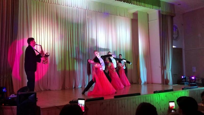 Совместное выступление с шоу балетом Артур Бедикян Саксофонист Сочи