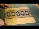 Patchwork tutorial Seminole Rychle siti z pruhu Ubrus prostirani polstar