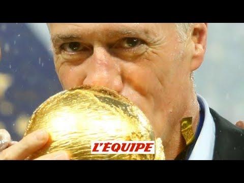 Didier Deschamps le collectionneur Foot CM 2018 Bleus