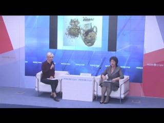 Пресс-конференция директора Керченского музея