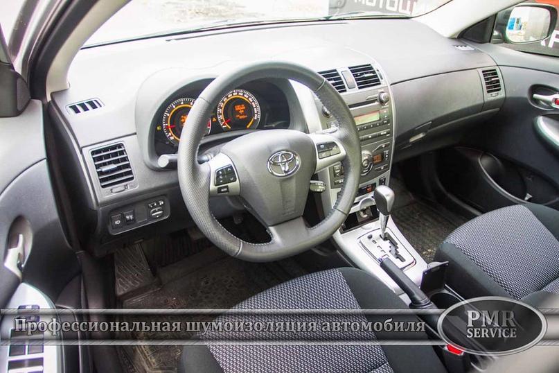 Шумоизоляция Toyota Corolla, изображение №21