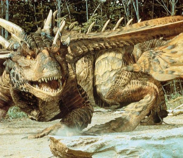 дракон реальный фото выброс пыли щебня