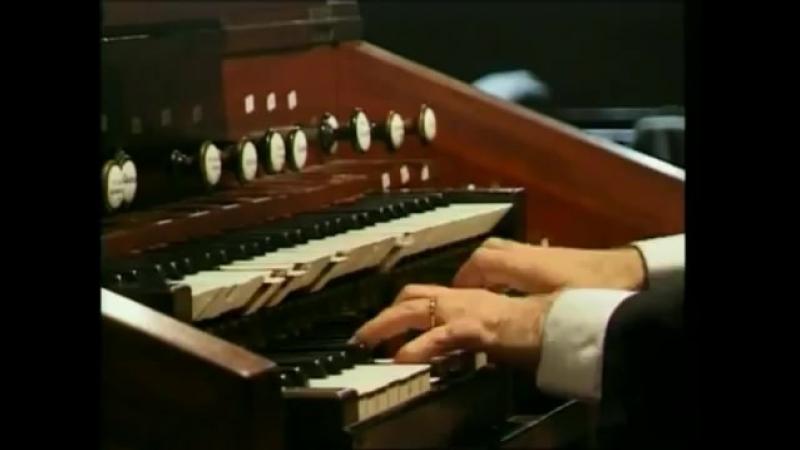 J S BACH Sinfonia de la Cantata Wir danken dir BWV 29 Organista Juan Paradel