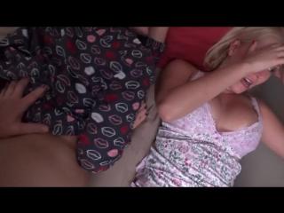 [family therapy] natasha nice, vanessa cage family sleepover