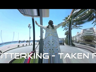 "Michael the glitterking at french riviera ... ( this is a part of his song ""sunny days"" )"