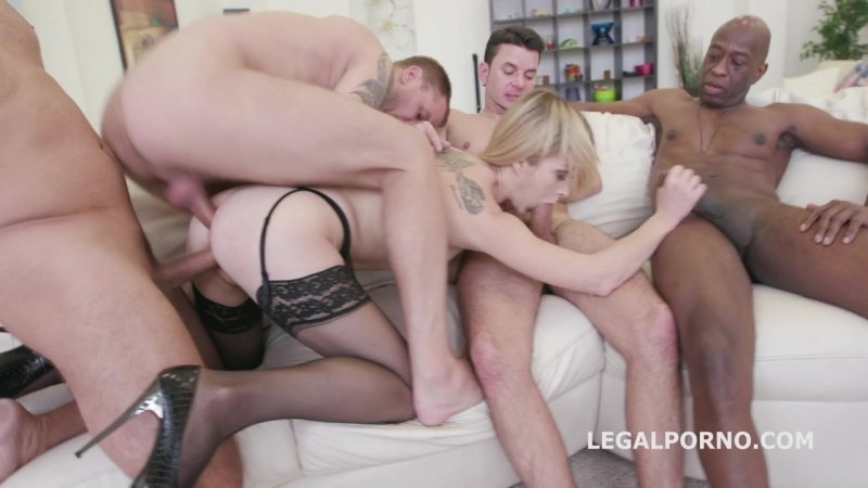 Welcome in Porn with DAP Lisa Blacked DP 5 Swallow New girl gets 5 boys for the first time GIO277